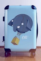 Olli Trolley - Blauw