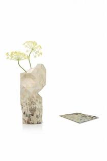 Paper Vase Ice Skaters