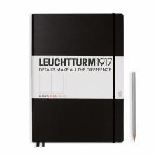 Leuchtturm A4+ Master Classic Black Plain Hardcover Notebook