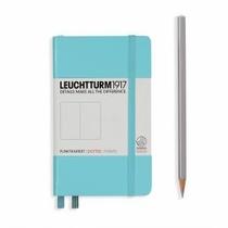 Leuchtturm A6 Pocket Light Blue Dotted Hardcover Notebook