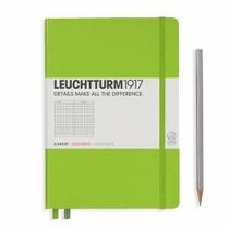 Leuchhturm A5 Medium Lime Squared Hardcover Notebook