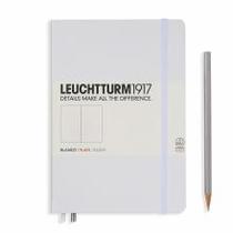 Leuchtturm A5 Medium White Plain Hardcover Notebook