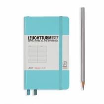 Leuchtturm A6 Pocket Light Blue Ruled Hardcover Notebook