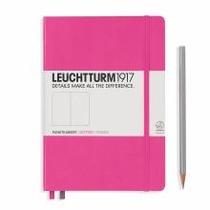 Leuchtturm A5 Medium Pink Dotted Hardcover Notebook