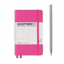 Leuchtturm A6 Pocket Pink Plain Hardcover Notebook