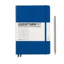 Leuchtturm A5 Medium Royal Blue Ruled Hardcover Notebook