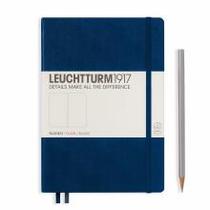 Leuchtturm A5 Medium Navy Plain Hardcover Notebook