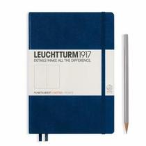 Leuchtturm A5 Medium Navy Dotted Hardcover Notebook