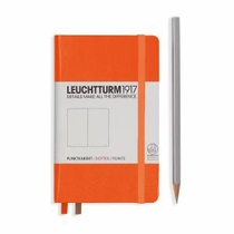 Leuchtturm A6 Pocket Orange Dotted Hardcover Notebook
