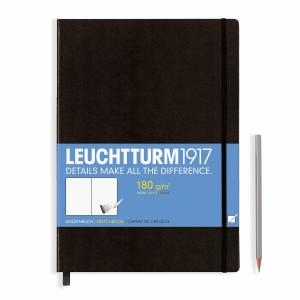 Leuchtturm A4+ Sketch Book Master Black Hardcover