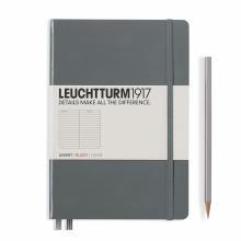 Leuchtturm A5 Medium Anthracite Ruled Hardcover Notebook