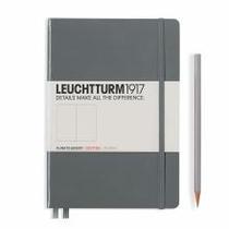 Leuchtturm A5 Medium Anthracite Dotted Hardcover Notebook
