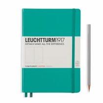 Leuchtturm A5 Medium Emerald Dotted Hardcover Notebook