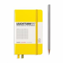 Leuchtturm A6 Pocket Yellow Squared Notebook