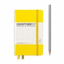 Leuchtturm A6 Pocket Lemon Dotted Hardcover Notebook