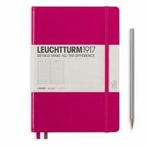 Leuchtturm A5 Medium Berry Ruled Hardcover Notebook