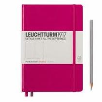 Leuchtturm A5 Medium Berry Dotted Hardcover Notebook