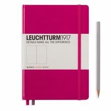 Leuchtturm A5 Medium Berry Plain Hardcover Notebook