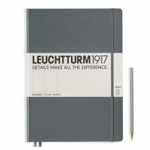 Leuchtturm A4+ Master Slim Anthracite Plain Hardcover Notebook