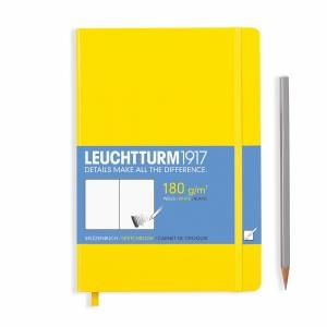 Leuchtturm A5 Sketch Book Medium Yellow Hardcover