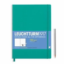 Leuchtturm A4+ Sketch Book Master Emerald Hardcover