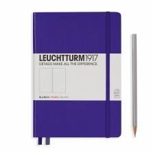Leuchtturm A5 Medium Purple Plain Hardcover Notebook