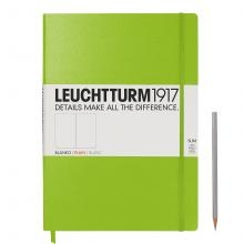 Leuchtturm A4+ Master Slim Lime Plain Hardcover Notebook