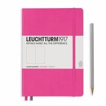 Leuchtturm A5 Medium New Pink Dotted Hardcover Notebook