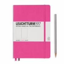 Leuchturm A5 Medium New Pink Plain Hardcover Notebook