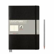 Leuchtturm B5 Black Plain Softcover Notebook