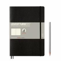 Leuchtturm B5 Black Dotted Softcover Notebook