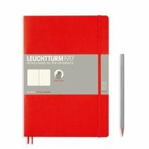 Leuchtturm B5 Red Plain Softcover Notebook