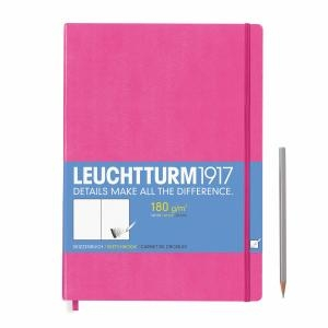 Leuchtturm A4+ Sketch Book Master New Pink Hardcover