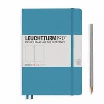 Leuchtturm A5 Medium Nordic Blue Dotted Hardcover Notebook