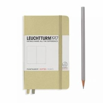 Leuchtturm A6 Pocket Sand Dotted Hardcover Notebook