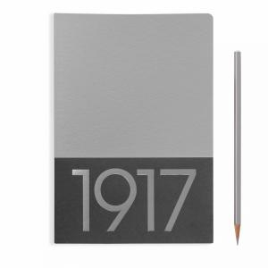 Leuchtturm A5 Jottbook Medium Silver Ruled 2pack Metallic Edition Softcover
