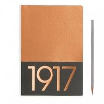 Leuchtturm A5 Jottbook Medium Copper Plain 2pack Metallic Edition Softcover