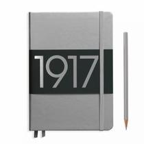 Leuchtturm A5 Medium Silver Dotted Hardcover Notebook Metallic Edition