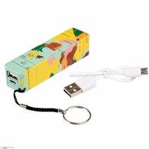 Oplader Powerbank Vintage World Map