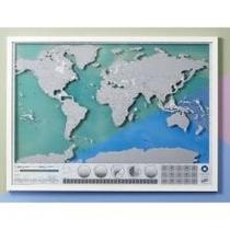 Scratch Map Oceans