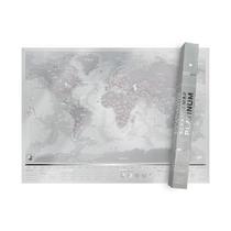 Scratch Map Platinum Wereldkaart