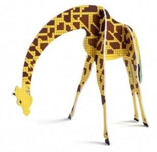 Pop Out Giraffe