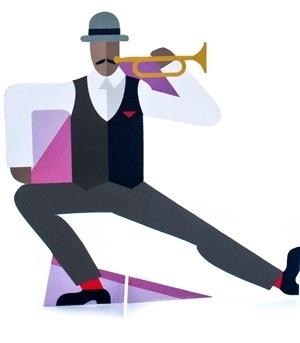 Pop Out Jazz Man