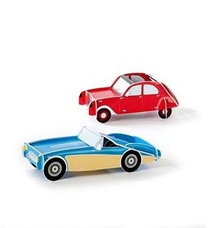 Cool Cars 1 Red & Blue