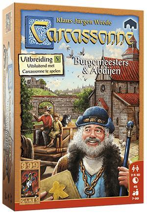 Carcassonne Burgemeesters en abdijen