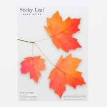 Leaf It Maple Red - Sticky Notes