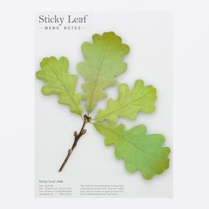 Leaf It Oak Green - Sticky Notes