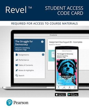 The Struggle for Democracy Revel Access Code Card