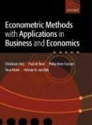 Econometric Methods with Applications in Business and Econom