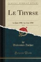 Thyrse, Vol. 8